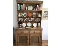 DRESSER OLD STRIPPED PINE PERIOD PIECE