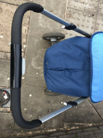 Pushchair in use just for few months , still in good condition. From cigarette and pets free home.