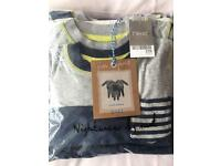 Brand new with tags boys next pjs 4-5 years