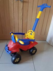Push along car/buggy