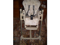 MAMAS AND PAPPAS HIGH CHAIR