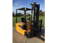 Hyundai electric forklift truck