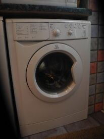 indesit slim depth washing machine good working order
