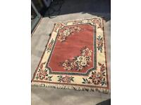 Professionally cleaned rug for sale