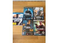 Bourne Identity DVDS