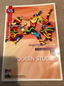 CFE National 5 Modern Studies - BrightRED