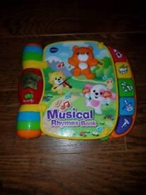 Nursery rhyme musical book