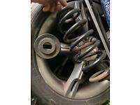 Seat leon/audi a3 rear spring