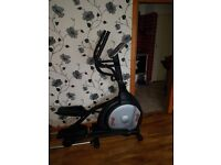 Electric cross trainer.