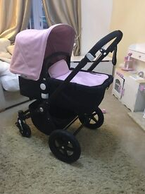 Bugaboo cameleon 3 in baby pink