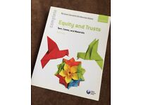 Equity and Trusts: texts cases and materials; Clements &Abass; Law Book