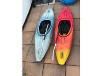 2 X Teksport Xcess 240 Kayaks