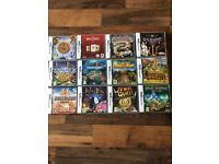 12x DS games
