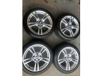 Bmw 1-3-4 series alloy wheels 18 inch