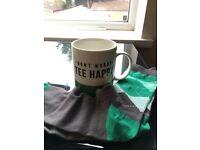 Golf Mug With Matching Socks - Brand New