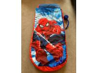 Spiderman - Childrens inflatable ready bed