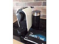 NESPRESSO COFFEE MACHINE ( USED FOUR TIMES ONLY )