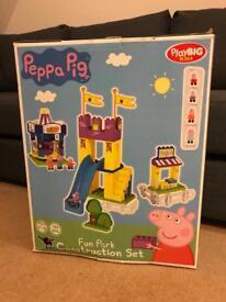 Peppa Pig Fairground construction set