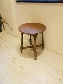 4 Copper top tables