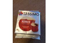 Tassimo Kenco Americano Smooth Coffee Pods - per pack 16 pods, 16 servings - UNOPENED NEW