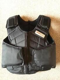 Children's horse riding body protector