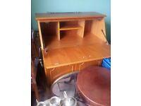 buero writing desk cupboard storage office