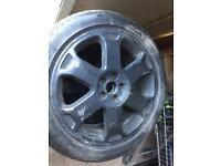 Audi S3 Ronal Alloys 5x100 NEW Pirelli Tyres 225 45 17 Golf Bora TT Fabia