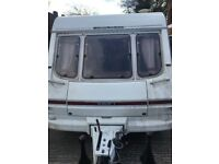 1996 4 BERTH SWIFT CARAVAN WITH FULL AWNING AND DOCUMENTS