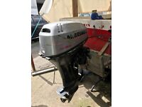 25hp Mariner Engine Boat Project Big Foot Outboard Spares Or Repairs