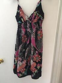 Oasis summer dress size 12