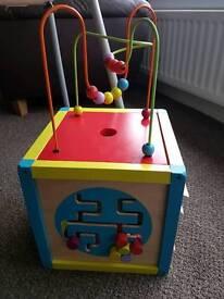Baby activity cube