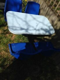 X2 Heavy duty garden tables