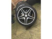 Mercedes aclass bclass cclass wheels! Amg 17s