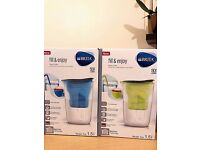 BRITA fill & enjoy Fun Water Filter Jug - Blue & Green