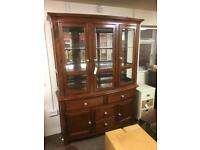 Gillies of Broughty Ferry display cabinet RRP £2000 * free furniture delivery*