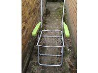 Garden Loungers x4 no cushions. £10 the lot