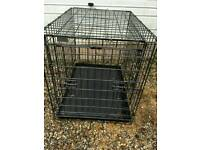 Medium dog cage / crate.
