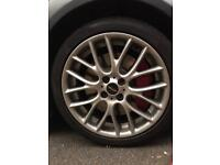 R56 Mini JCW R112 Challenge wheels and tyres
