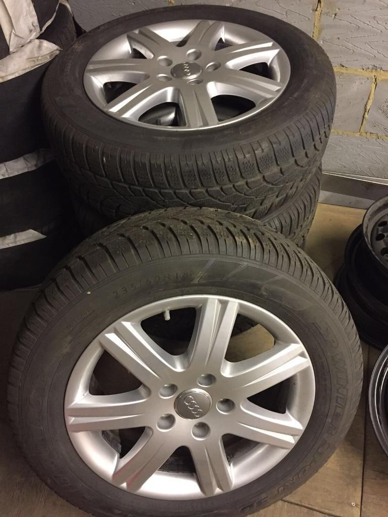 Audi q5 wheels and winter tyres