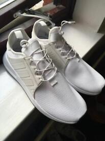 Adidas White X PLR Trainers Size 9