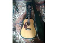Martin D16GT Left Handed with Hard Case and Fishman Pickup