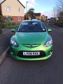 2008 Mazda 2 1.5 Sport 5DR 08 REG Petrol Green