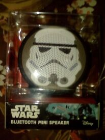 Brand new Star wars stormtrooper bluetooth speaker