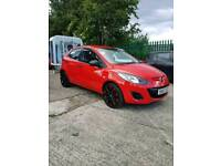 CHEAPEST 2013 MAZDA 2 TS IN THE UK ONLY 41,000 MILES ONLY £30 ROAD TAX IDEAL FIRST CAR