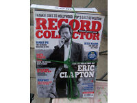 Music record collector magazine in 12 monthly bundles £10 ono