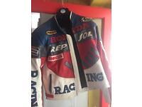 Repsol racing motorcycle jacket