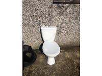 Free white toilet very good condition