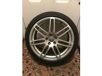 "Genuine Audi A6 19"" Alloy Wheel+New Tyre"