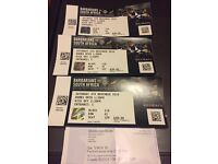 Barbarians v South Africa Rugby 3x tickets rrp £60 per ticket