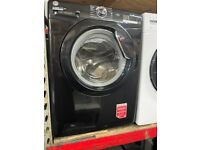 9KG BLACK HOOVER WASHING MACHINE